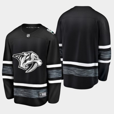 NHL Predators Blank Black 2019 All-Star Game Adidas Men Jersey