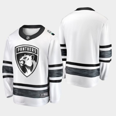 NHL Panthers Blank White 2019 All-Star Game Adidas Men Jersey