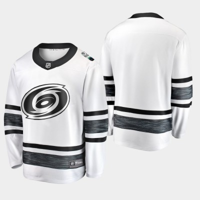 NHL Hurricanes Blank White 2019 All-Star Game Adidas Men Jersey