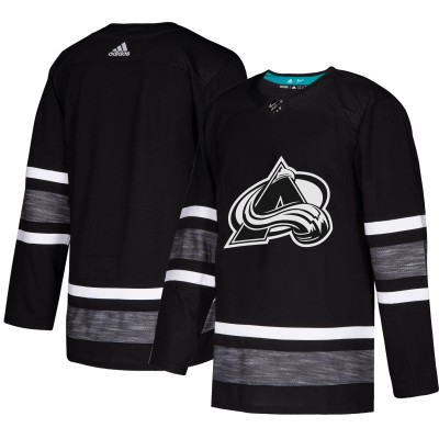 NHL Avalanche Blank Black 2019 All-Star Game Adidas Men Jersey