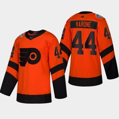 NHL Flyers 44 Phil Varone 2019 Stadium Series Orange Adidas Men Jersey