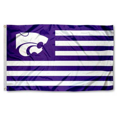 NCAA Kansas State Wildcats Flag   2