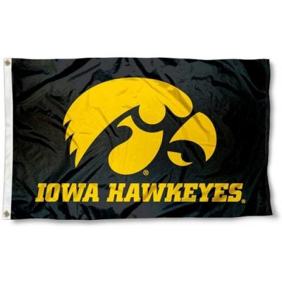 NCAA Iowa Hawkeyes Flag   1