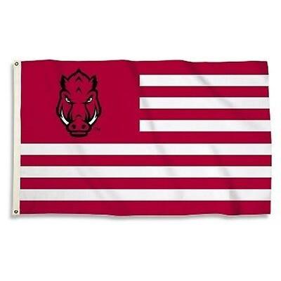 NCAA Arkansas Razorbacks Flag   2