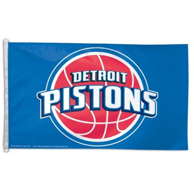 NBA Detroit Pistons Team Flag   3