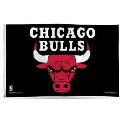 NBA Chicago Bulls Team Flag   3
