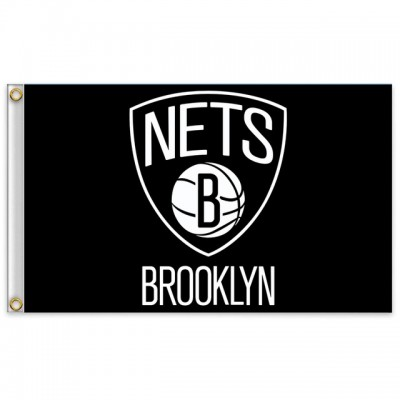 NBA Brooklyn Nets Team Flag  4