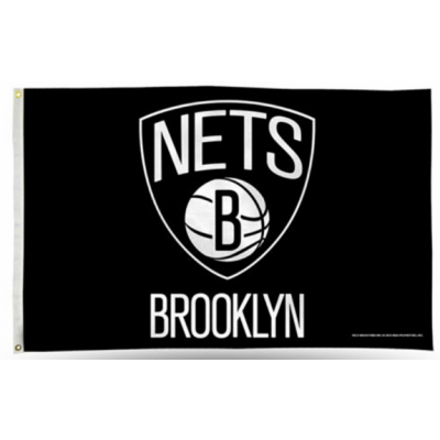 NBA Brooklyn Nets Team Flag   2