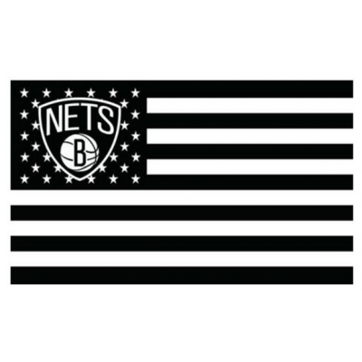 NBA Brooklyn Nets Team Flag   1