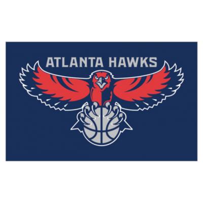 NBA Atlanta Hawks Team Flag 2