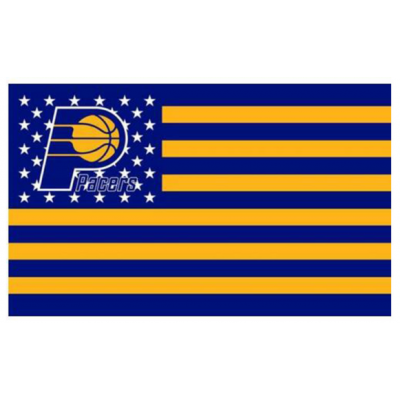 NBA Indiana Pacers Team Flag  2