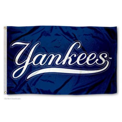 MLB New York Yankees Team Flag 3