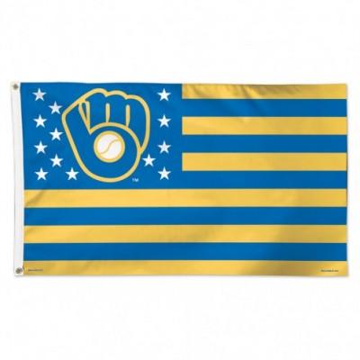 MLB Milwaukee Brewers Team Flag 4