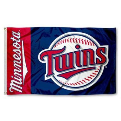 MLB Minnesota Twins Team Flag   3