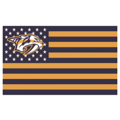 NHL Nashville Predators Team Flag   2