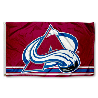 NHL Colorado Avalanche Team Flag 3