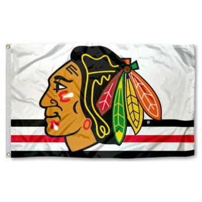 NHL Chicago Blackhawks Team Flag 5