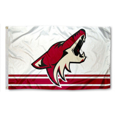 NHL Arizona Coyotes Team Flag   1