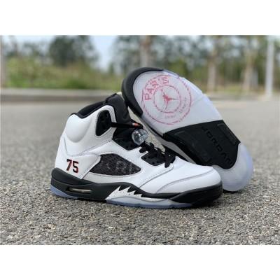 Air Jordan 5 Paris White Shoes