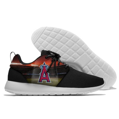 MLB Los Angeles Angels Roshe Style Lightweight Running Shoes   3