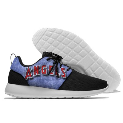 MLB Los Angeles Angels Roshe Style Lightweight Running Shoes   1