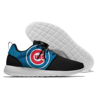 MLB Chicago Cubs Roshe Style Lightweight Running Shoes   5
