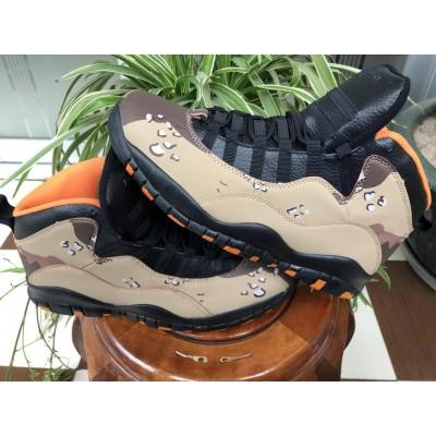 "Air Jordan 10 Retro ""Desert Camo"" Shoes"