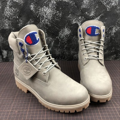 Timberland X Champion Fabric Leather Boot
