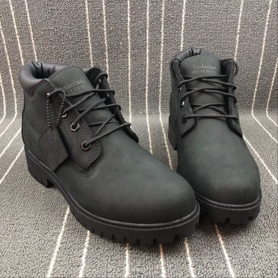 Timberland Waterproof Black Middle Boot