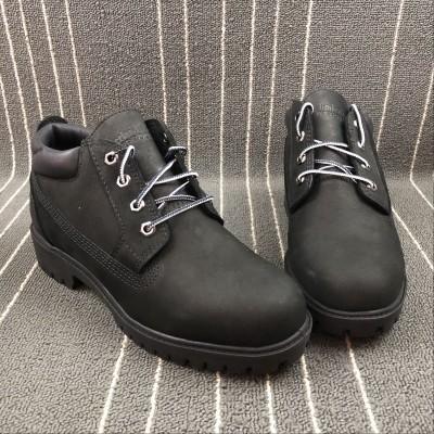 Timberland Waterproof Black Low Boot