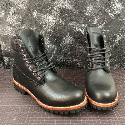 Timberland Fabric Leather Boot  1