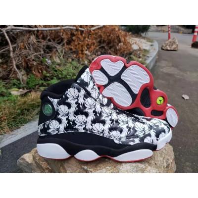 Air Jordan 13 Tattoos Black Shoes