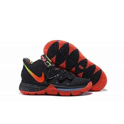 Nike Kyrie 5 Black/Red-Multi-Color Shoes