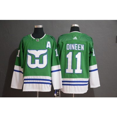NHL Whalers 11 Kevin Dineen Adidas Men Jersey