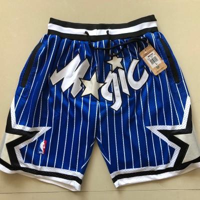 NBA Orlando Magic Blue Mesh Retro Shorts