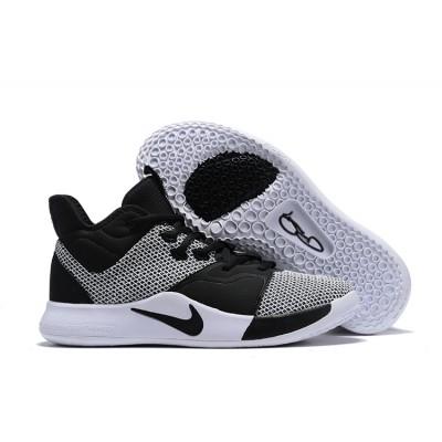 Nike PG 3 Gray Black White Shoes