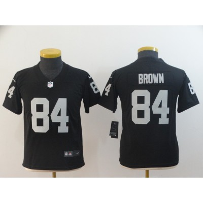 Nike Raiders 84 Antonio Brown Black Vapor Untouchable Limited Youth Jersey