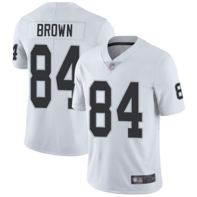 Nike Raiders 84 Antonio Brown White Vapor Untouchable Limited Youth Jersey