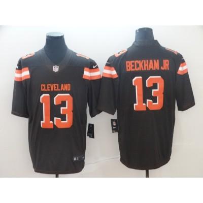 Nike Browns 13 Odell Beckham Jr Brown Vapor Untouchable Limited Men Jersey