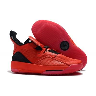 Air Jordan 33 University Red Black Shoes