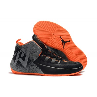 "Russell Westbrook Jordan ""Why Not?"" Zer0.1 Chaos Black Orange Shoes"