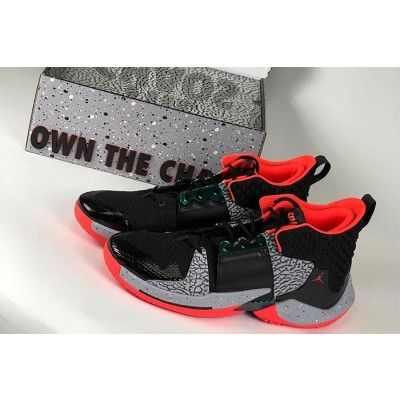 "Russell Westbrook Jordan ""Why Not?"" Zer0.2 ""Black Cement"" Shoes"