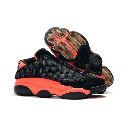 "Air Jordan 13 Low ""Infra Bred"" Clot Black Shoes"