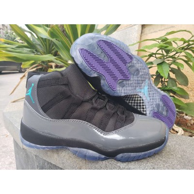 Air Jordan 11 Retro Gray Black Shoes