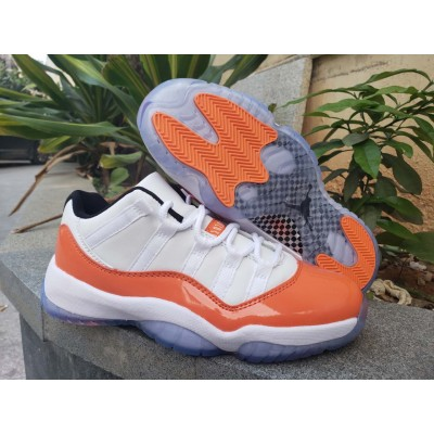 "Air Jordan 11 Low ""Orange Trance"" Shoes"