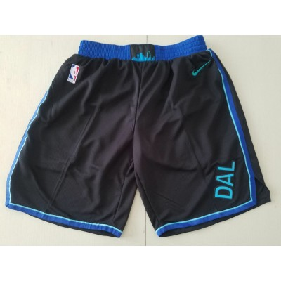 NBA Mavericks City Edition Black Shorts