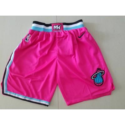 NBA Heat Earned Edition Pink  Shorts