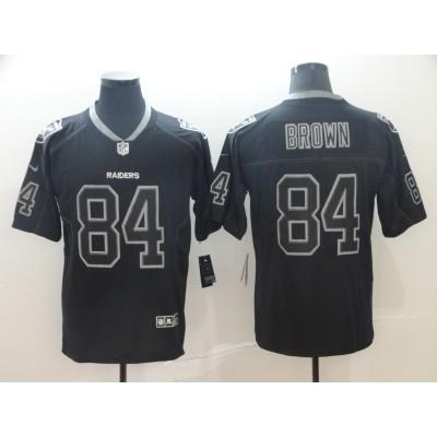 Nike Raiders 84 Antonio Brown Black Shadow Legend Limited Men Jersey