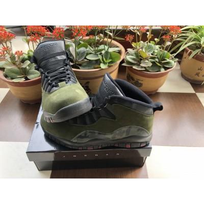 """Air Jordan 10 """"Woodland Camo"""" Shoes"""