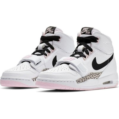 Air Jordan Legacy 312 White/Black/Pink Shoes